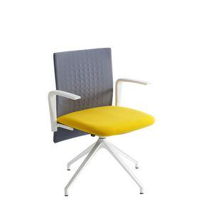Elodie Task U, Sedia girevole per ufficio, con schienale fonoassorbente