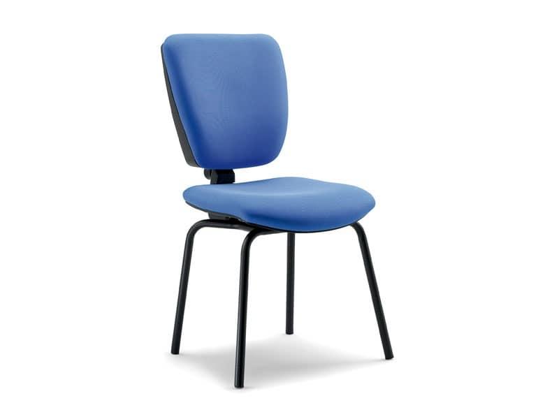 Sedute sedie ufficio idf for Sedie da studio