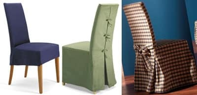 Sedia in faggio imbottita rivestimento sfoderabile for Sedie vestite