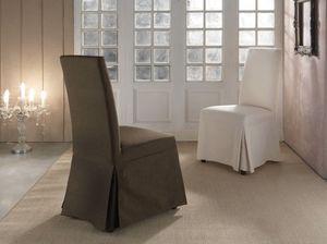 Arredo sedie contemporaneo sfoderabili idfdesign for Sedie vestite