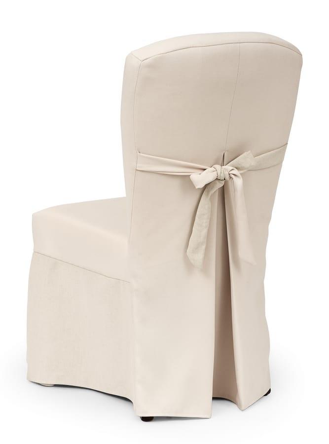 Sedia vestita per eleganti banchetti idfdesign for Sedie vestite design