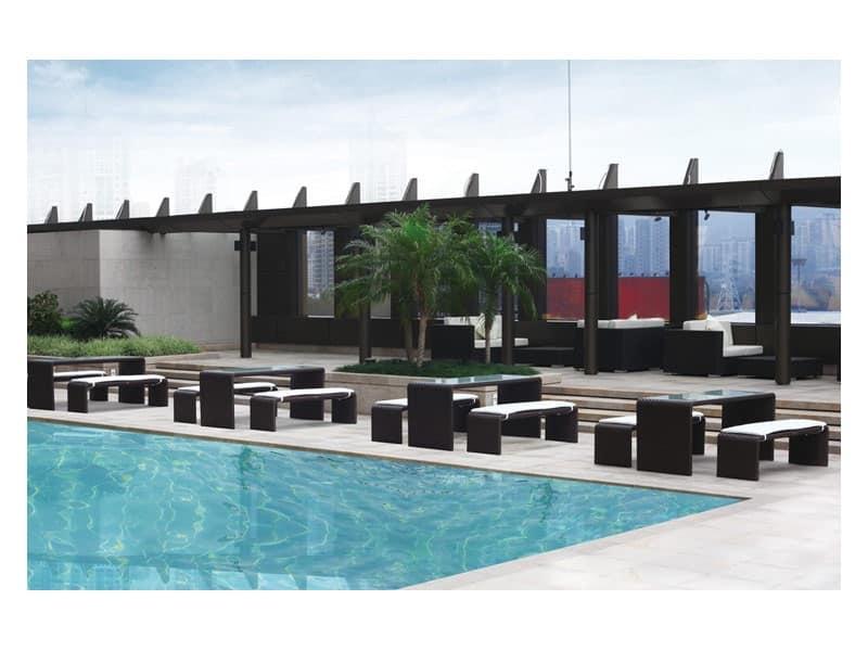 Sedute set arredo da giardino idf for Sedia design srl