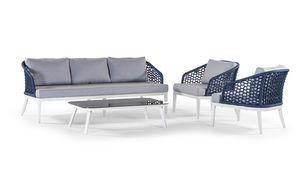Aruba/Guadalajara, Set per esterni con divanetto e tavolino