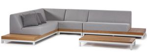 CALIFORNIA SET, Set da giardino con divano modulare