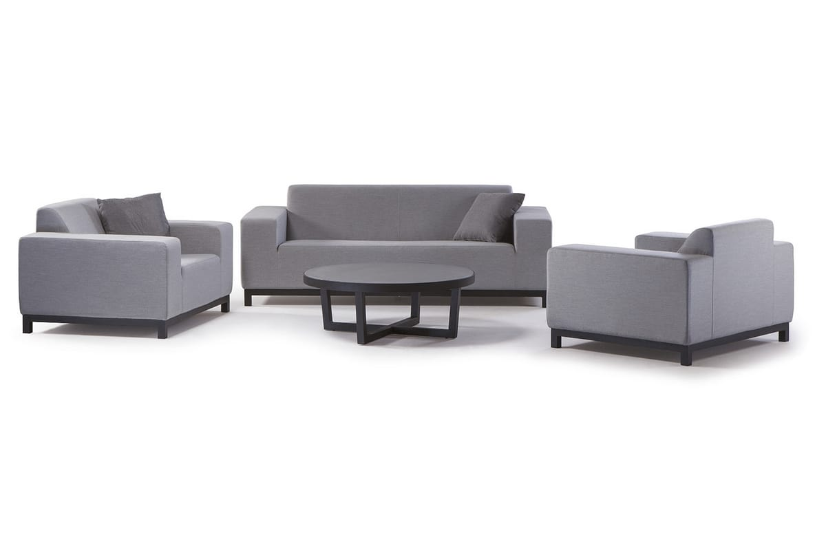 CASABLANCA SET, Set da giardino con divanetti e tavolino