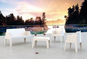 Formentera Set, Set arredo da giardino, per locali all'aperto