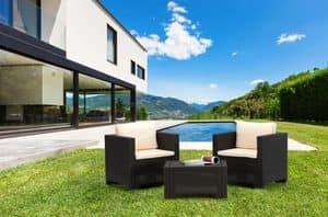 SET2PRAT, Set sedute ideali per giardino e esterni bar