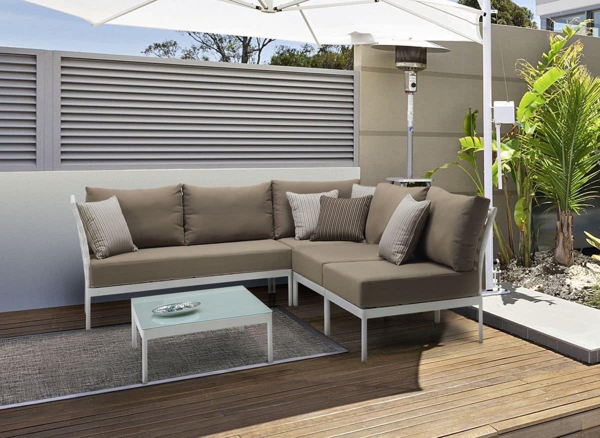 Villa lounge set giardino set arredo esterno idfdesign for Set giardino esterno