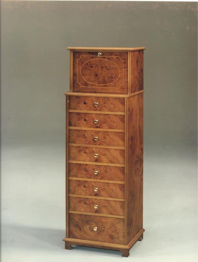 settimanale in legno per camere da letto in stile classico | idfdesign - Settimanale Camera Da Letto