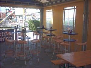 Max cod. 16 cod. 19, Sgabello moderno per ristoranti e bar all'aperto