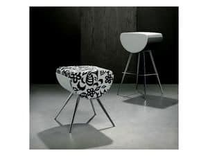 Immagine di BOMBOLO/L, sgabello seduta bassa