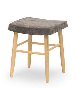 Web stool low, Sgabello basso senza schienale