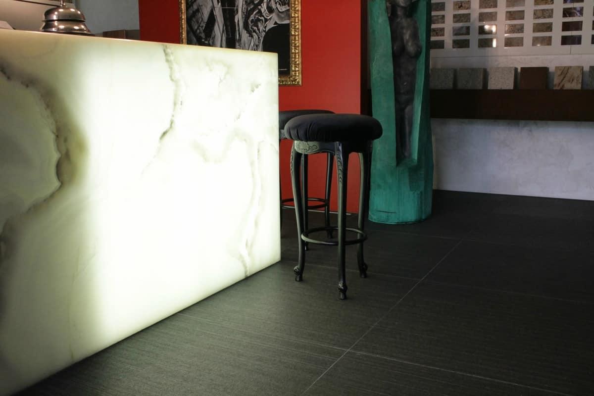 Sgabello bar in stile contemporaneo barocco leggero idfdesign