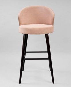 M38SG, Sgabello con seduta e schienale imbottiti