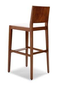 Immagine di TONI 473 CI, sgabello legno linea classica