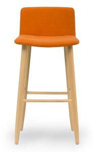 Web stool, Sgabello moderno imbottito