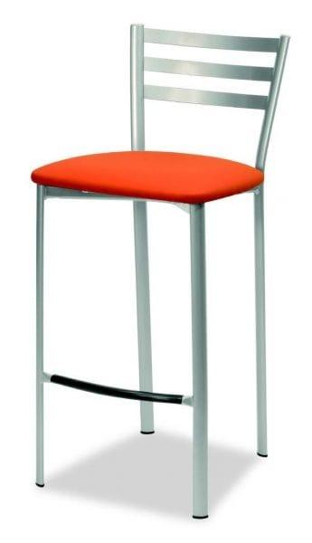 Sgabello per cucina, con seduta imbottita | IDFdesign