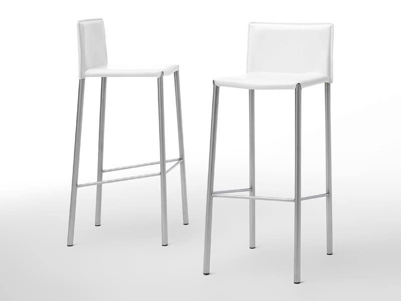 Ikea sgabello bar bernhard bar stool with backrest chrome plated