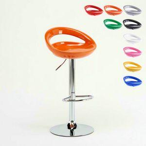 Sgabello bar cucina regolabile Hollywood � SGA054HOL, Sgabello alto regolabile, seduta ergonomica 360�