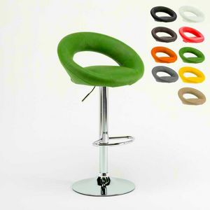 Sgabello alto design cucina Chicago � SGA054CHI, Sgabello robusto in stile moderno, seduta ergonomica