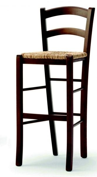04 Brio/SG, Sgabello rustico, seduta in paglia