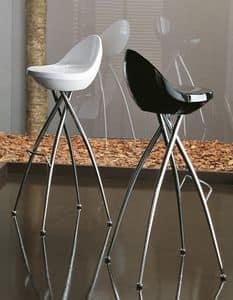 Immagine di cico. H75/65, sgabelli seduta plastica