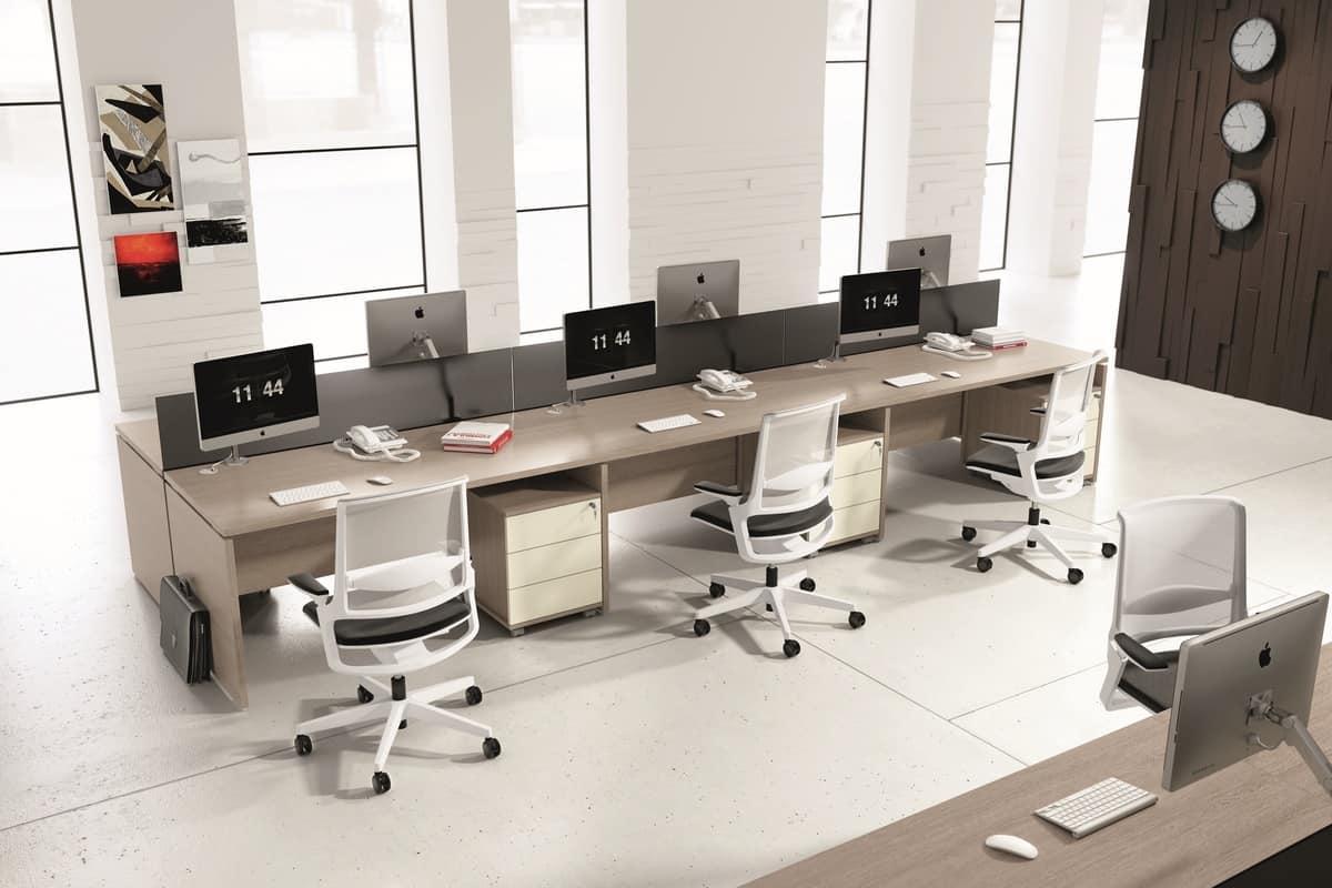 Mobili modulari per ufficio in stile moderno idfdesign - Mobili stile moderno ...