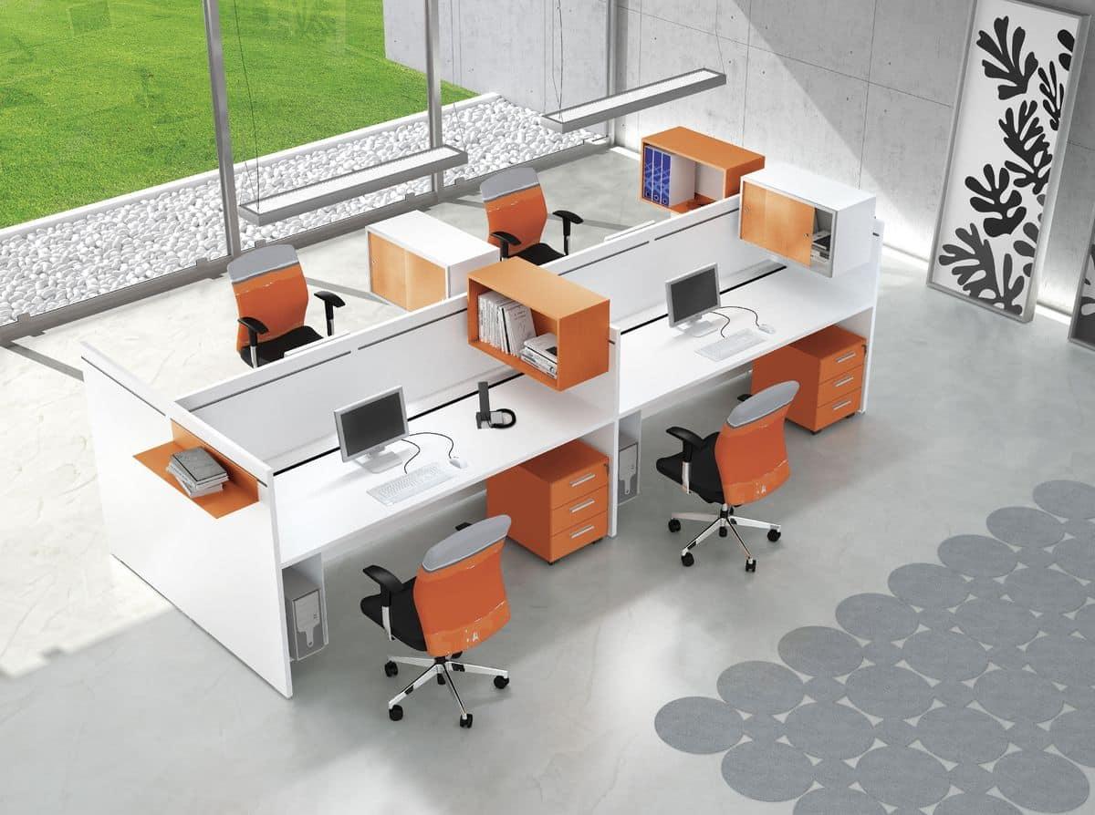 Postazioni per uffici operativi moderni e funzionali for Uffici moderni