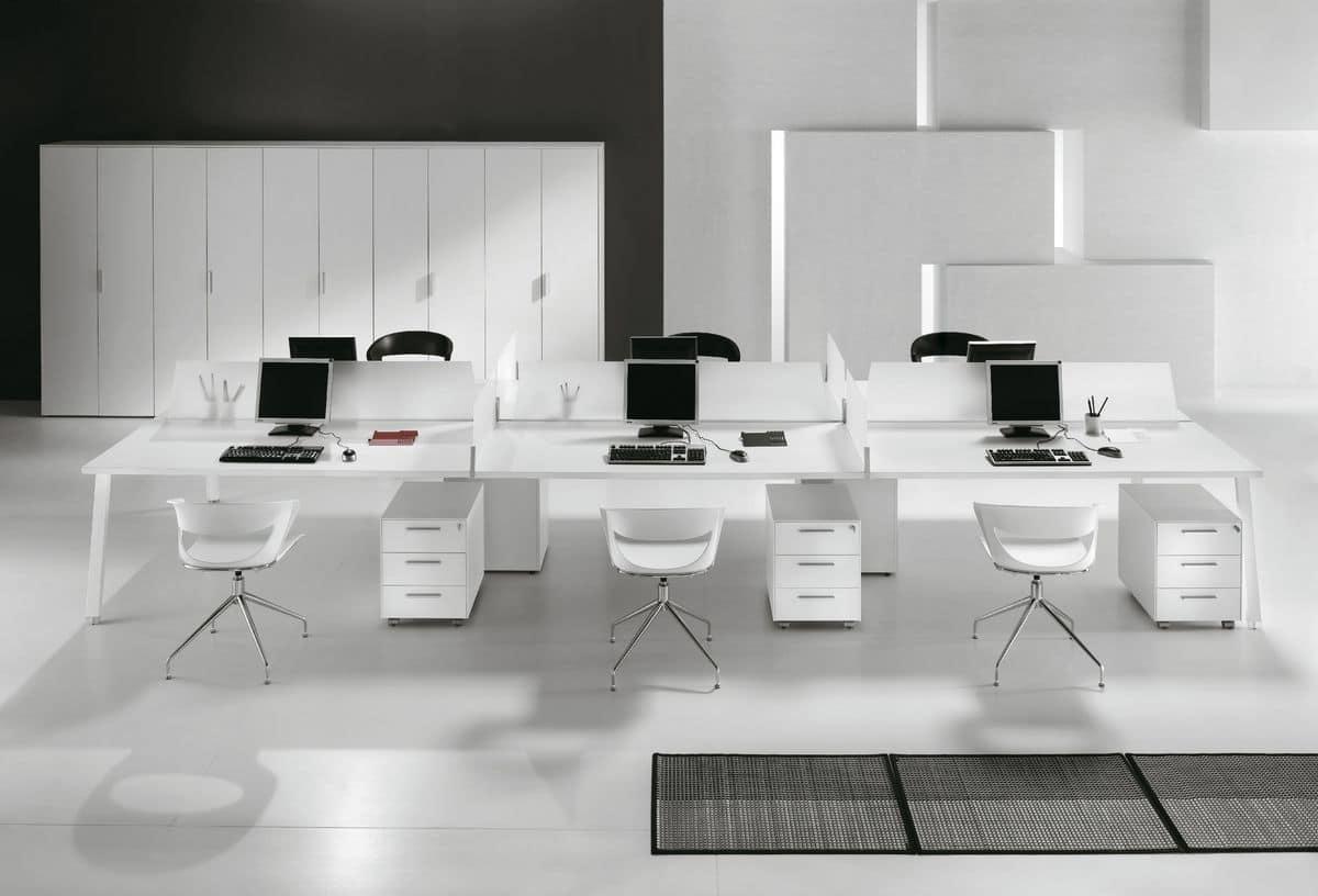 Postazioni operative ideali per uffici moderni idfdesign for Uffici moderni