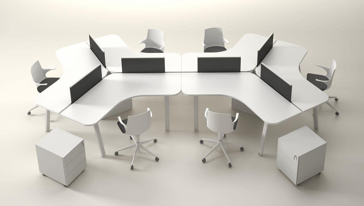 Postazioni modulari per uffici operativi idfdesign for Uffici operativi