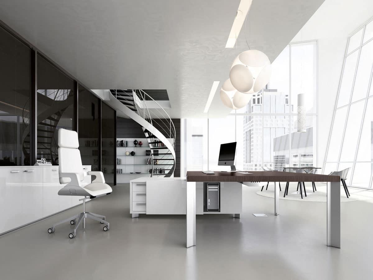 Dv903 tay 7 scrivania composta ufficio amministrativo for Della valentina office