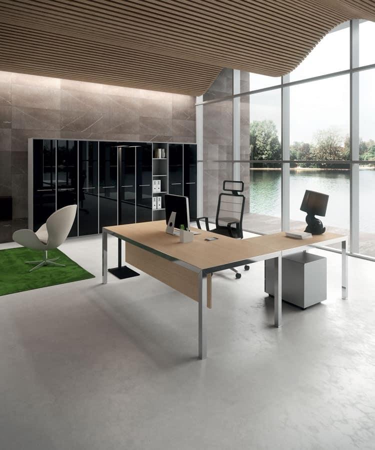 Soluzioni arredo per ufficio open space idfdesign for Soluzioni per ufficio