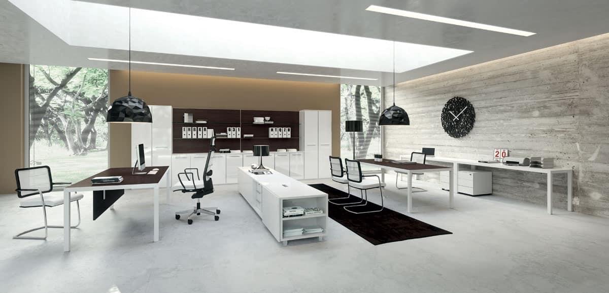 Sistemi ufficio hi tech municipi idfdesign - Arredo ufficio moderno ...