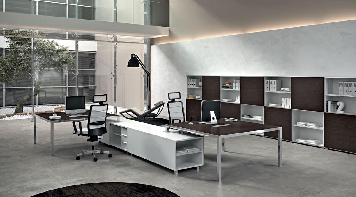Dv905 rym 8 mobile linea ufficio sala operativa idfdesign for Della valentina office