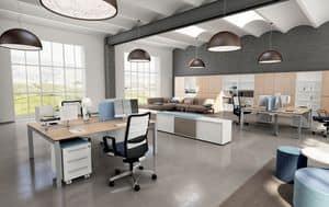 Immagine di ENTITY 2, soluzione ufficio con accessori