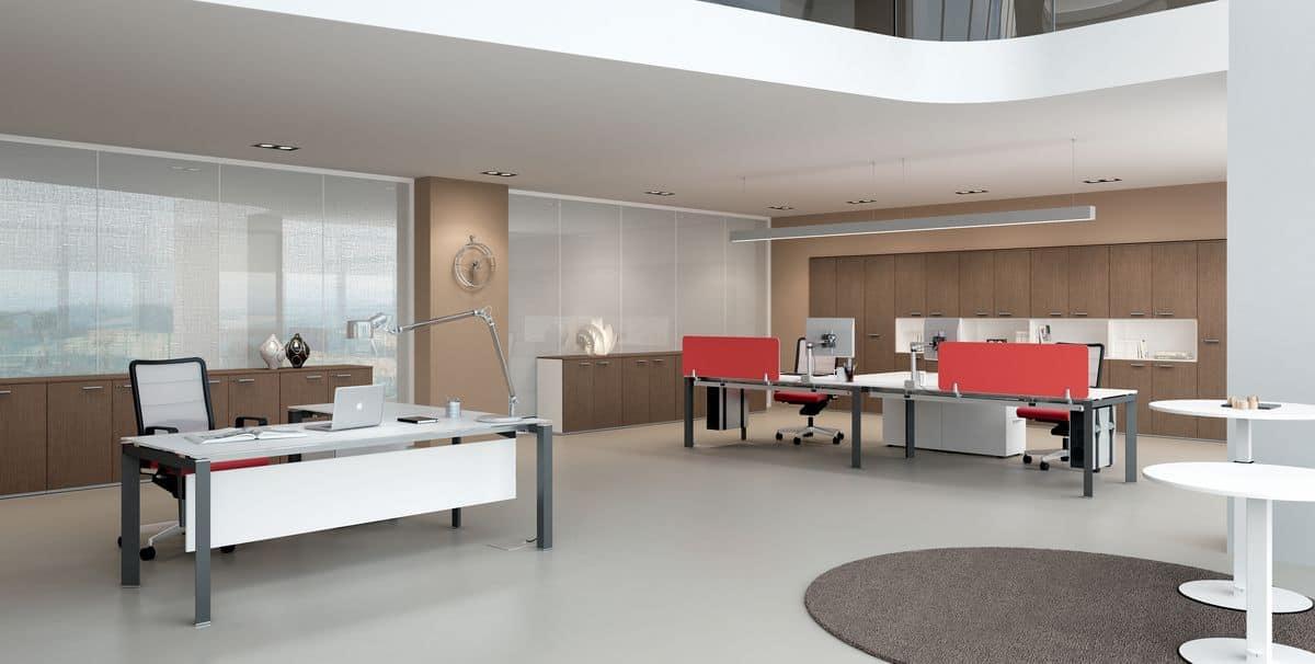 Dv801 entity 1 postazioni operative per uffici dalle for Della valentina office