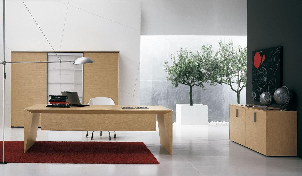 Arredamento per uffici moderni materiali innovativi for Uffici moderni