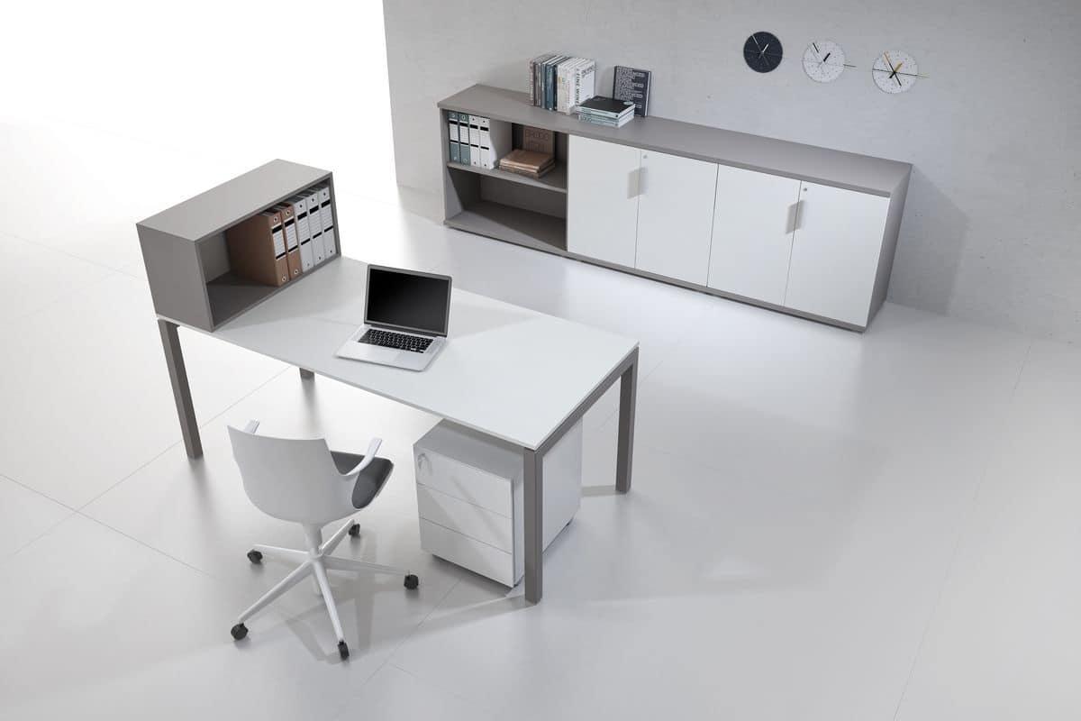 Postazioni ufficio operativo individuali e multiple for Mobili ikea ufficio