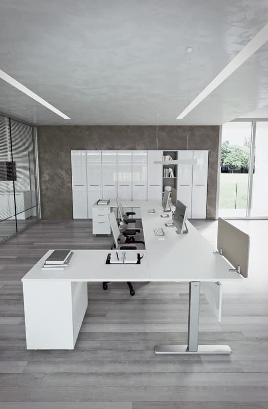 Sistema modulare ufficio studio idfdesign for Della valentina office