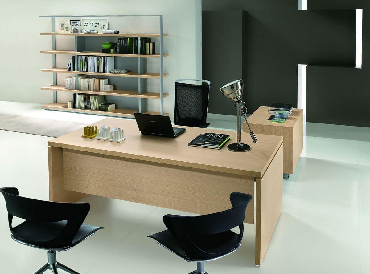 Arredamento moderno per ufficio direzionale idfdesign for Arredamento per ufficio moderno