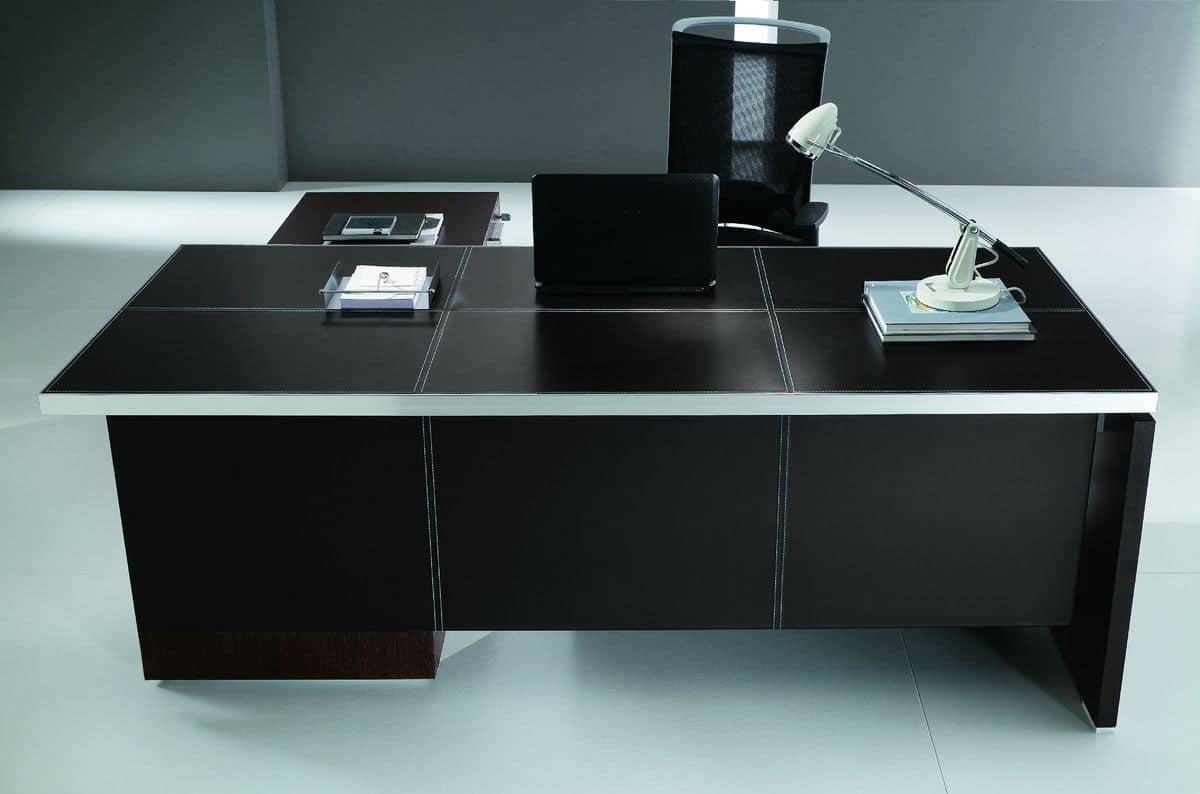 Mobili per ufficio moderni scrivania di design per for Mobili per ufficio completo
