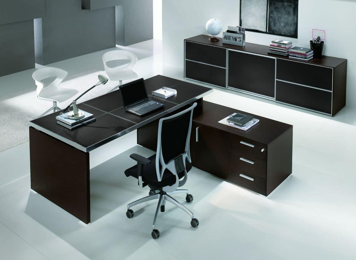 Arredo per ufficio direzionale funzionale in stile for Dau srl design arredo ufficio