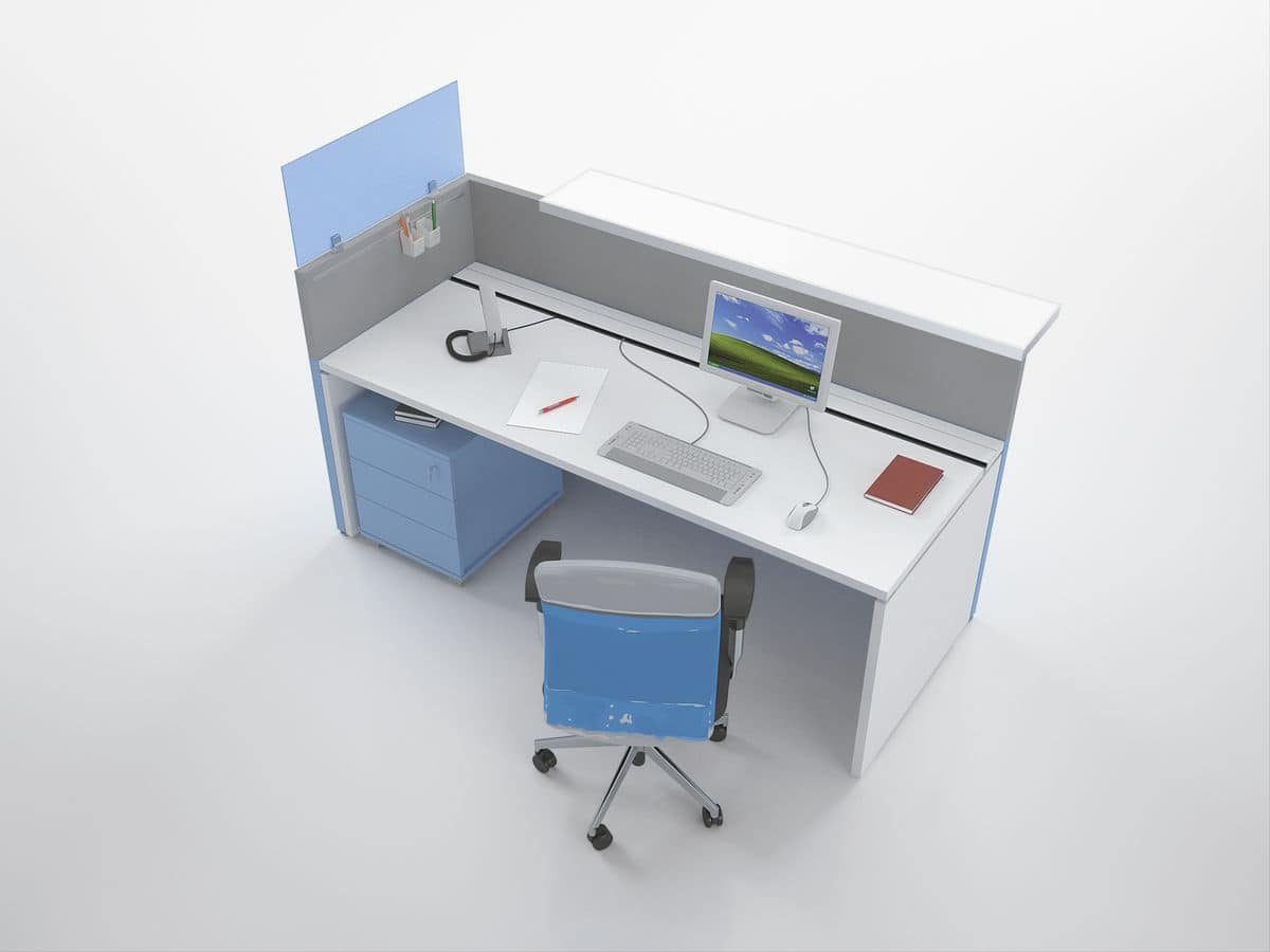 Reception moderna per studi dentistici idfdesign for Arredamento studi dentistici