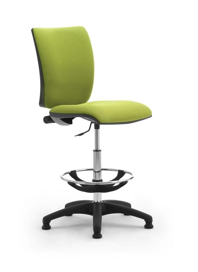 Sprint stool, Sgabello comodo e regolabile per utilizzo prolungato
