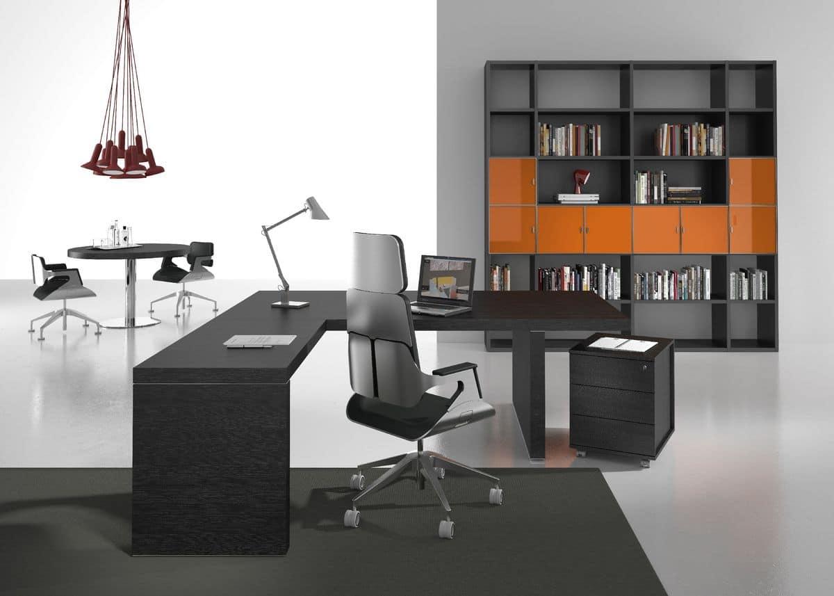 Arredamento per ufficio esecutivo funzionale e modulare for Arredamento per ufficio
