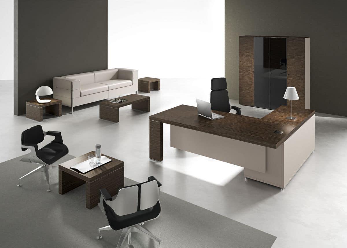 Ufficio Stile Moderno : Arredo elegante per ufficio direzionale stile moderno idfdesign