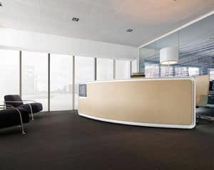 Vega bancone reception, Bancone reception, per uffici moderni e centri estetici