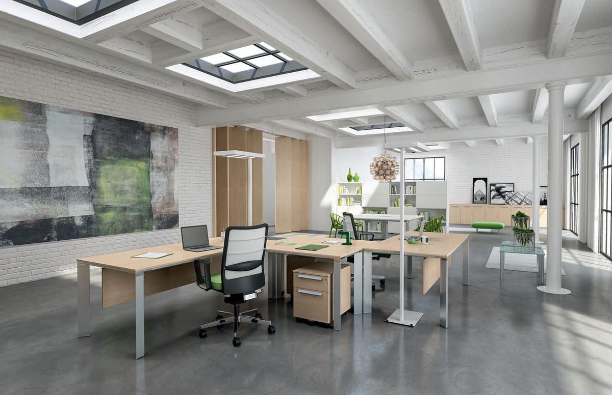 Arredo ufficio moderno mobili arredo ufficio napoli for Mobili per ufficio napoli