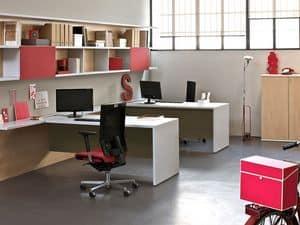 Workwall Loop In, Postazioni di lavoro con pareti attrezzate, per uffici operativi