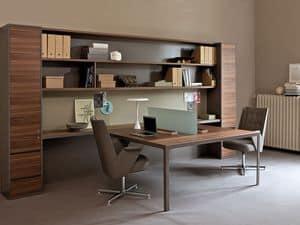 Workwall More, Pareti attrezzate per ufficio, con mobili contenitori